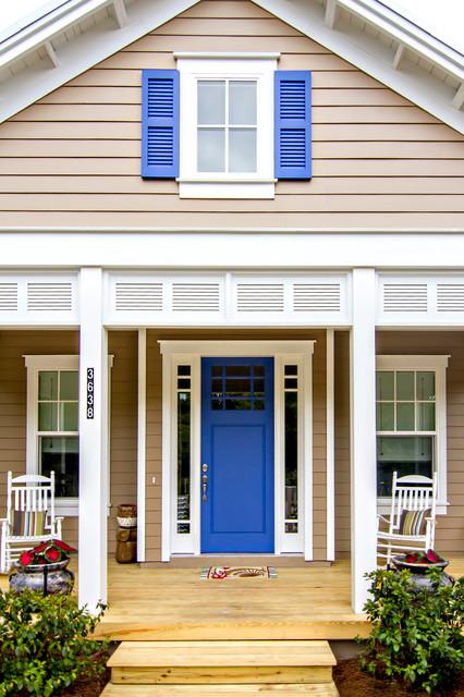 Beach Style Front Door