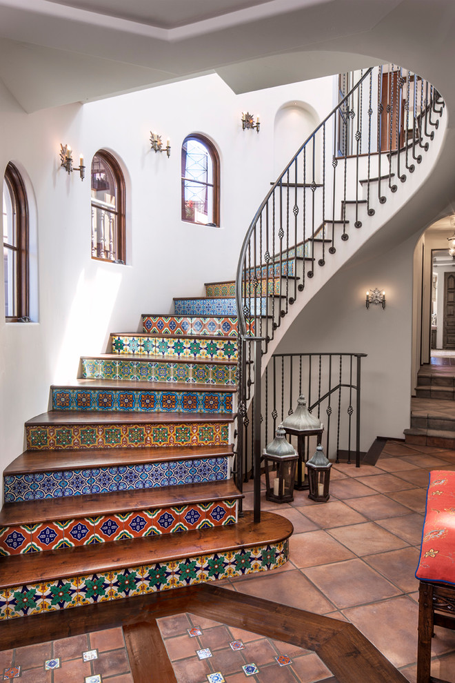 Spanish Colours - Mediterranean Staircase