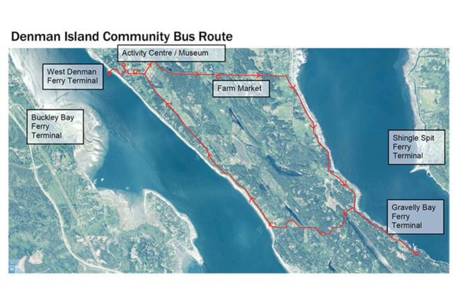 Denman Island bus service launches July 1st
