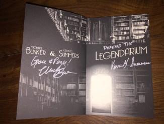Legendarium Signed