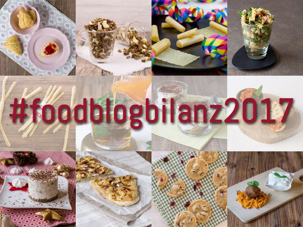 Foodblogbilanz 2017