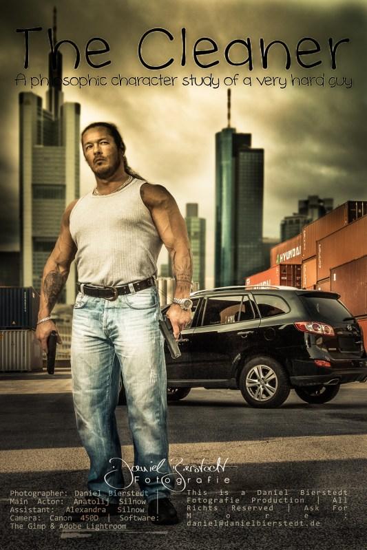 Movie poster project. Model: personal fitness trainer Anatolij -> https://www.facebook.com/AntonioNeroFM