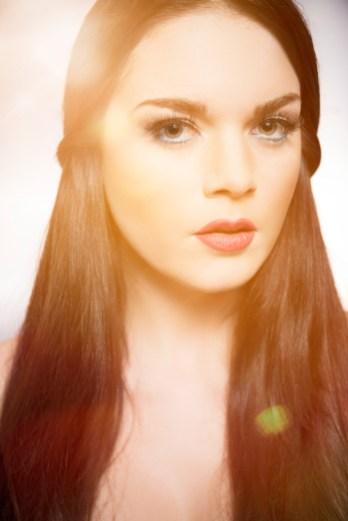 From an eyelashes advertising shoot with Jasmin Avicii.