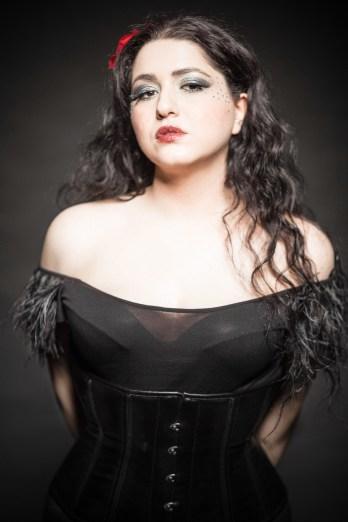 Makeup sesson with Model Fee Mastrovasili