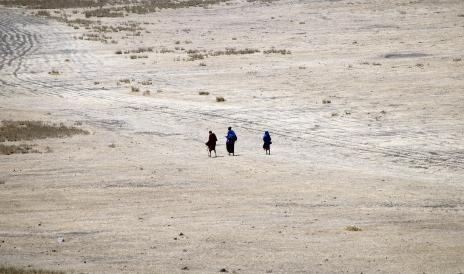 Maasai in the middle of no_where_a common occurrence_db