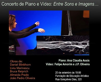 such a huge thank you to Ana Claudia Assis & J.P. Olivera for performing my work (twice!)