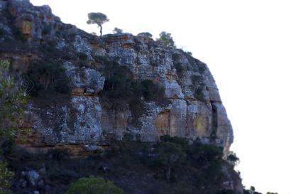 after 5 years exhumation occurs and the bodies are reinterred within a cliff face Isalo Natoional Park1