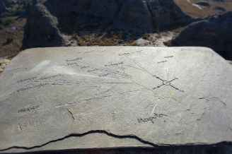 map stone carving - Isalo