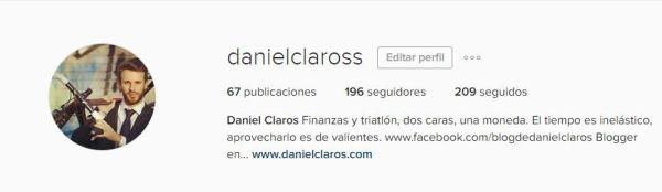 instagram daniel claros