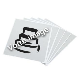 Impression comestible sûr feille lettre- edible print in sugar paper letter