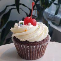 Cupcake au Chocolat avec glaçage à la vanille