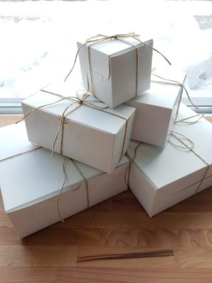 Emballage de cupcakes Montréal