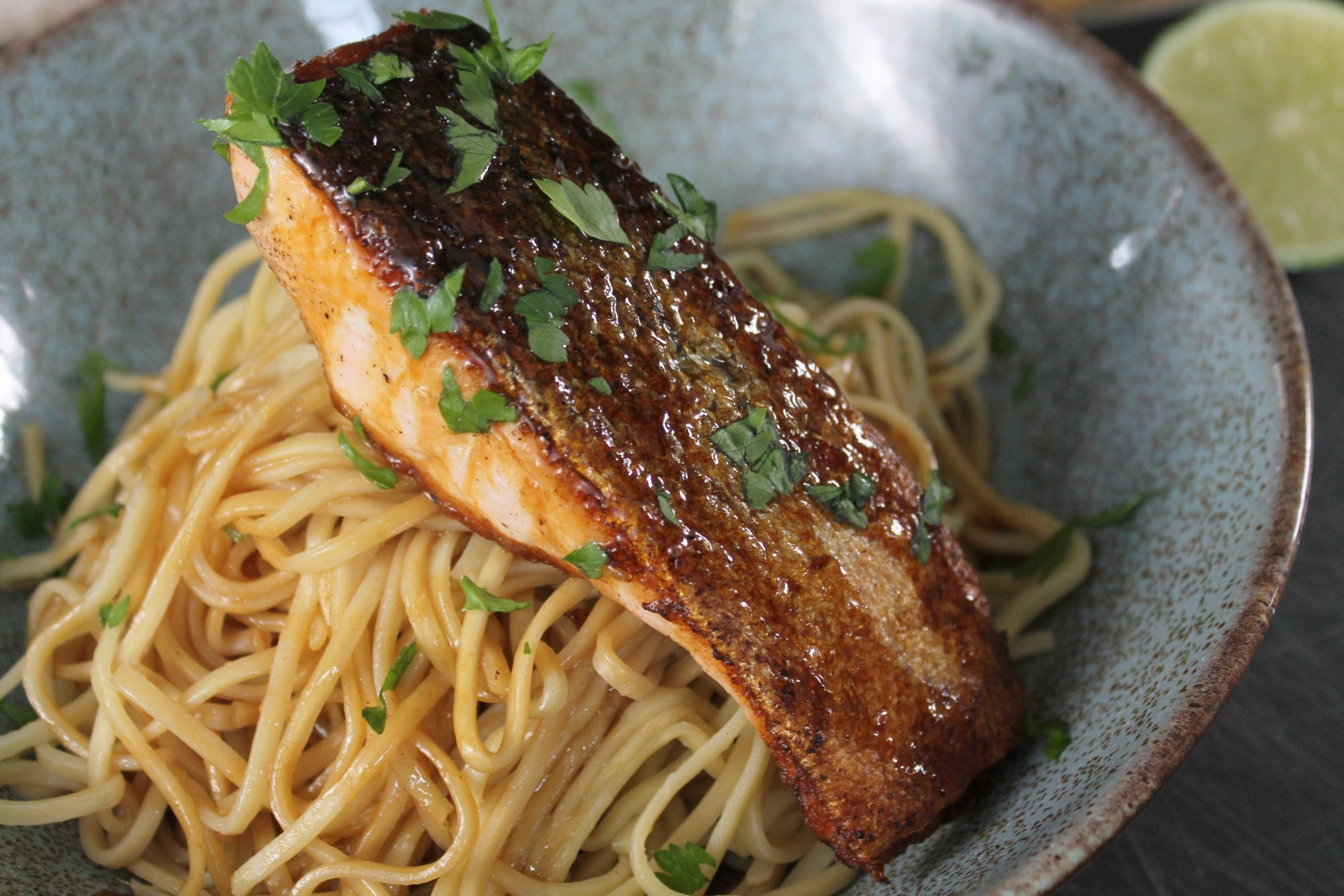 Honey & Soy Salmon