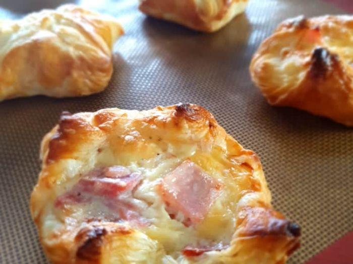 Ham and cheese jambon