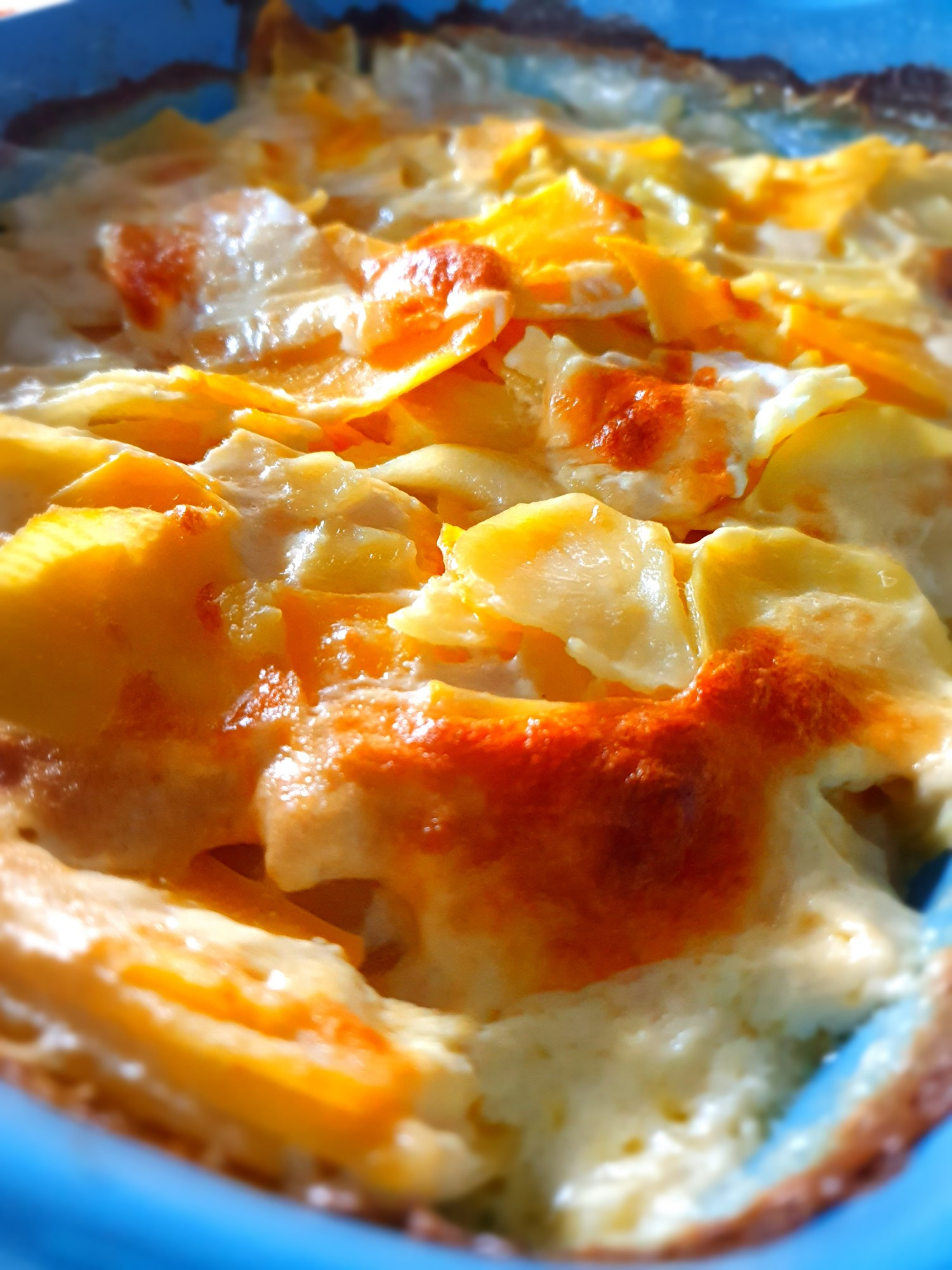 potato and turnip gratin