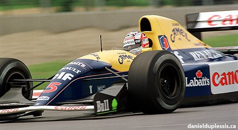 Image result for 1992 montreal mansell