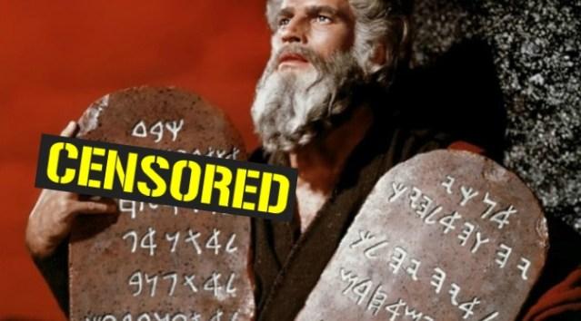Tra il primo e il secondo comandamento c'è una frase censurata da secoli (Esodo 20,5)