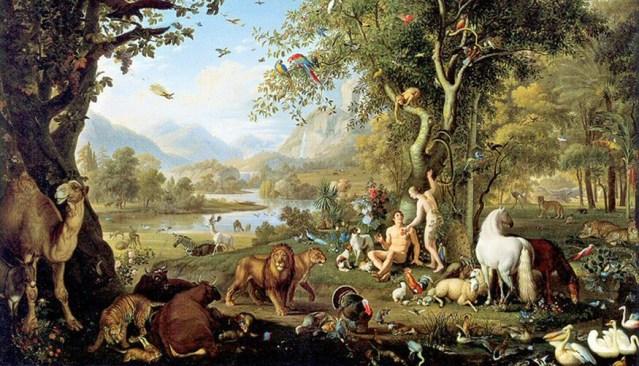 Dio creò Adamo vegetariano, poi un grave peccato rese gli uomini onnivori