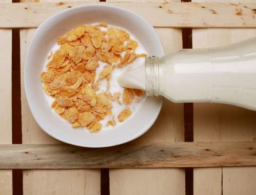 leite com cereal