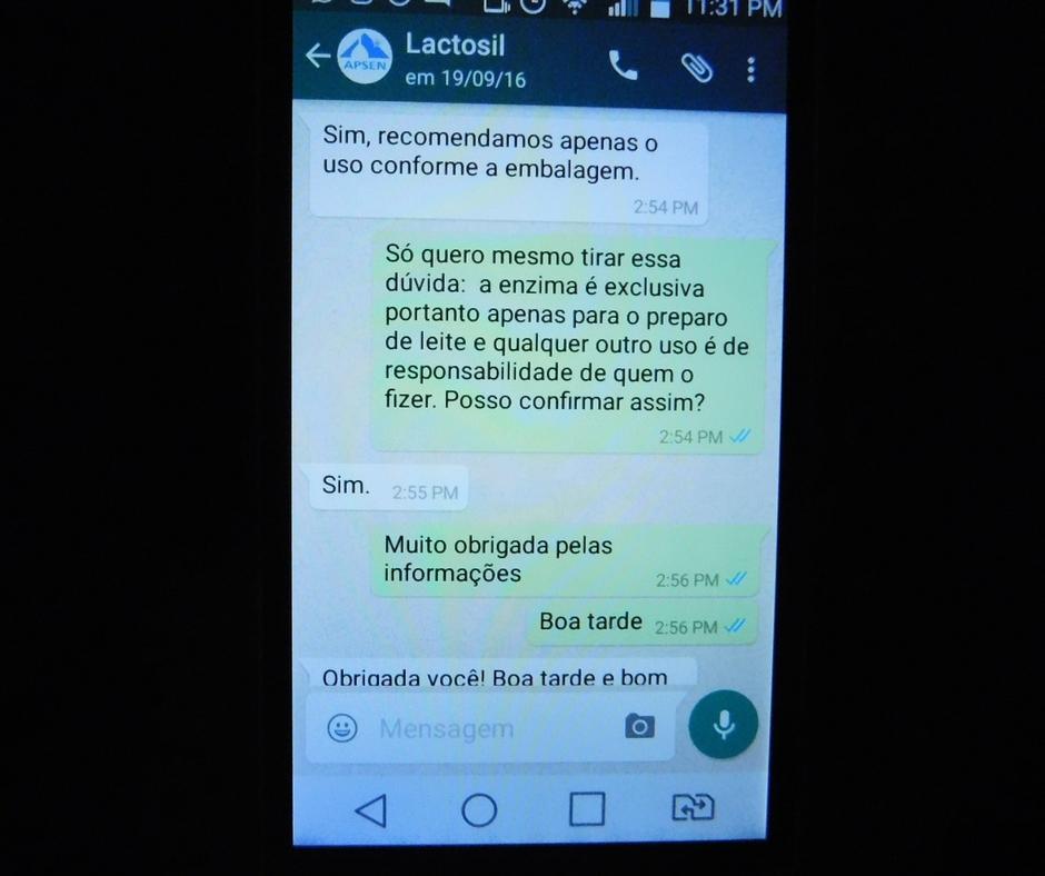 lactosil conversa