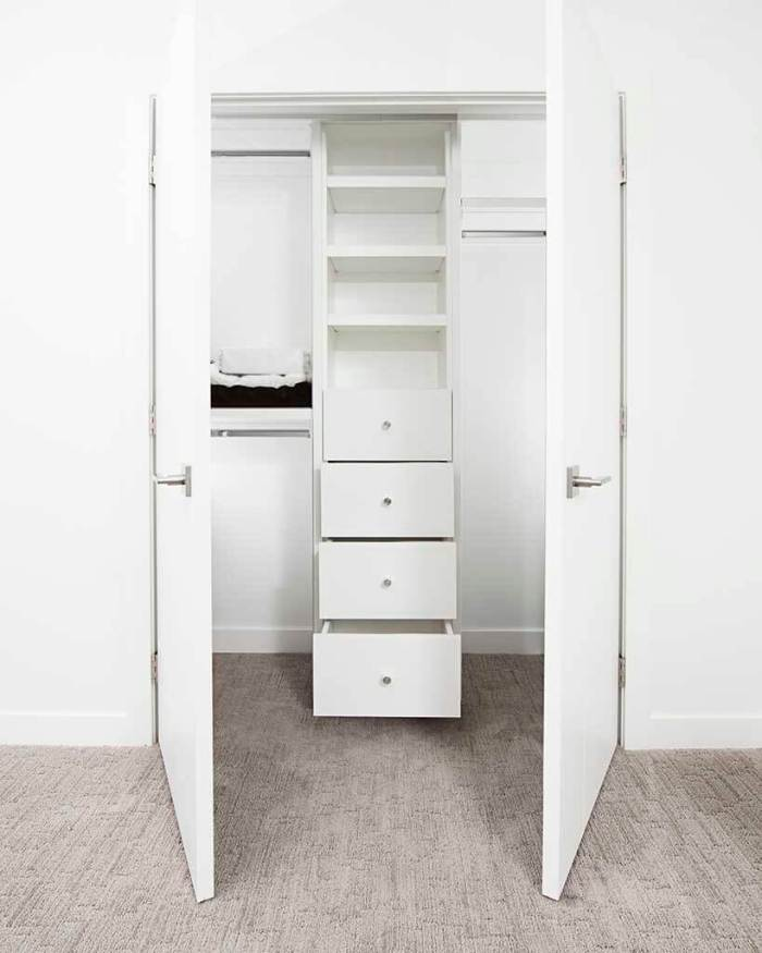 closet vazio