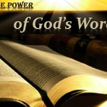 Confidence in the Word of God.