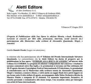 Proposta di pubblicazione Aletti