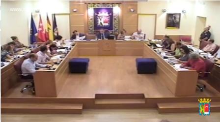 Error protocolo banderas Ayuntamiento Colmenar