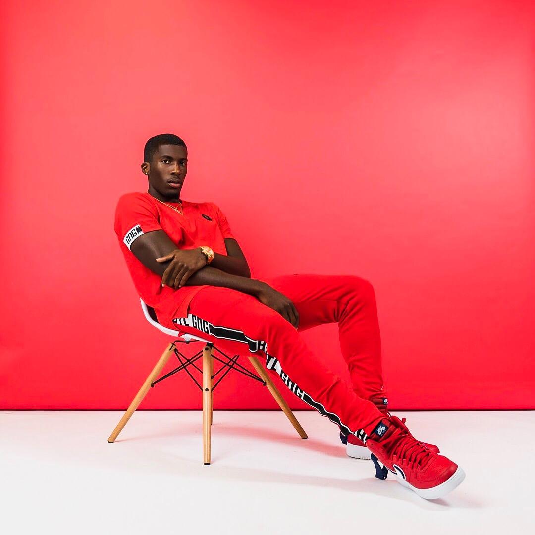 Hustle Gang, Men's Fashion, Daniel Obiefuna Nwandu, Fondu, Studio Photography, Nigerian-American, African, Black Male Model, Artist, Designer, Commissioner of Reflex Football