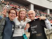Took a quick picture with some friends from Manitoba who attended the May 2017 U2 concert in Vancouver. We had attended same concert 30 years prior!
