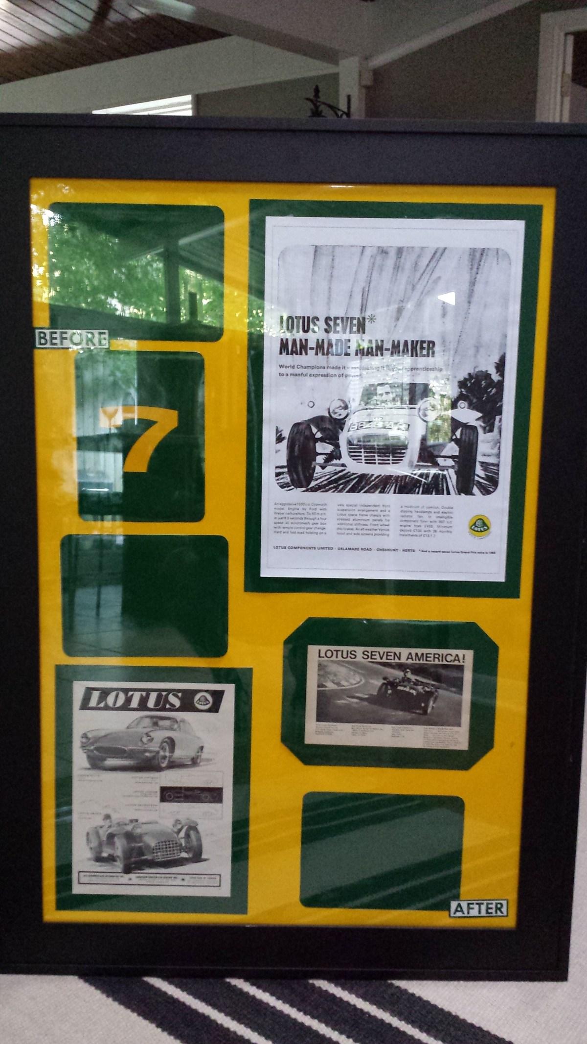 Lotus 7 frame