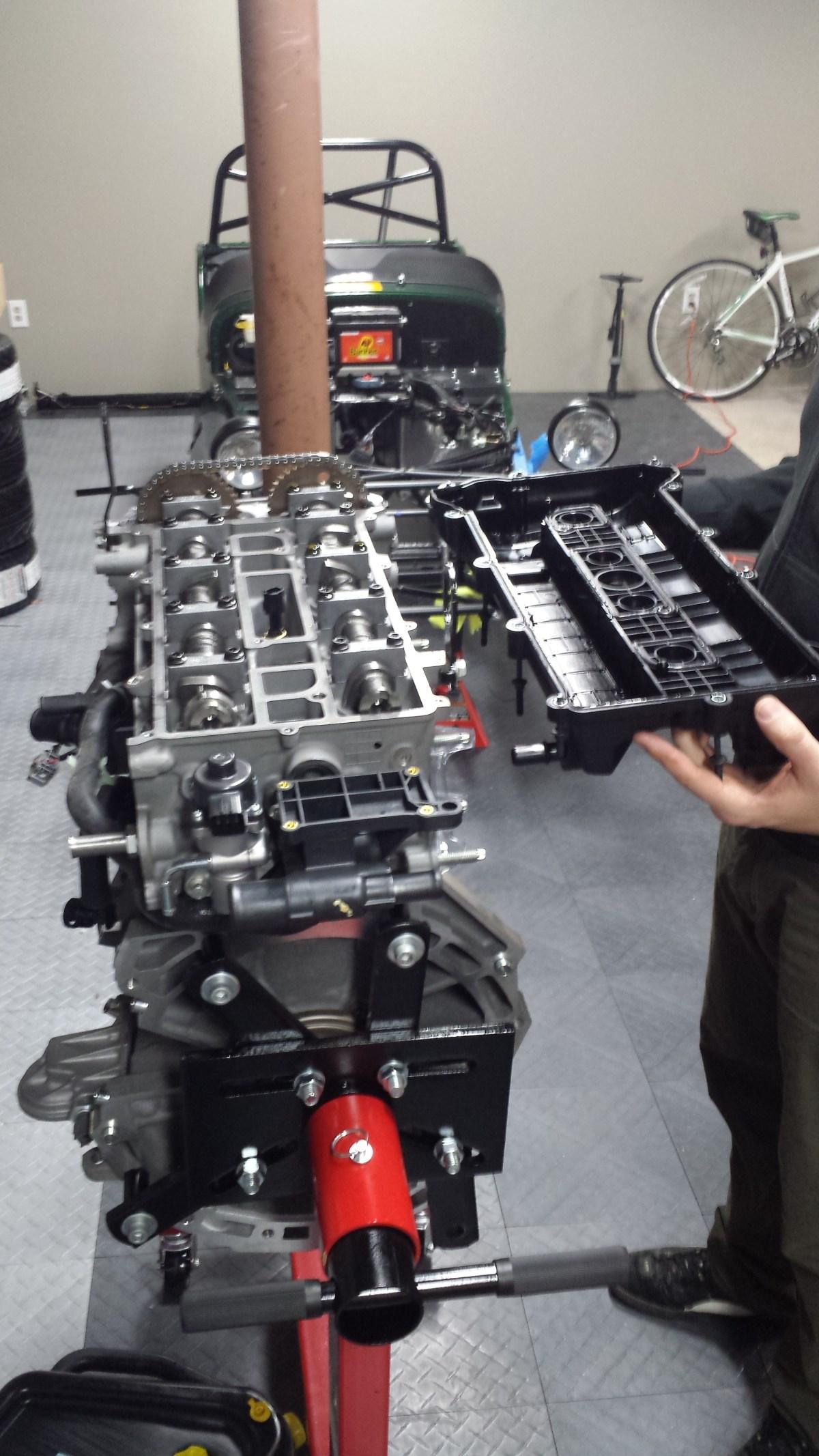 Remove valve cover