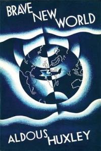 primera portada un mundo feliz aldous huxley novela distópica