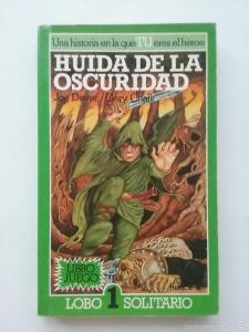 librojuego lobo solitario escape book dados