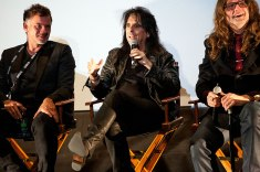 """Alice Cooper (along with filmmakers Scot McFadyen and Reginald Harkema), answers audience questions about """"Super Duper Alice Cooper"""""""