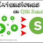 extensiones en qlik sense business addicts