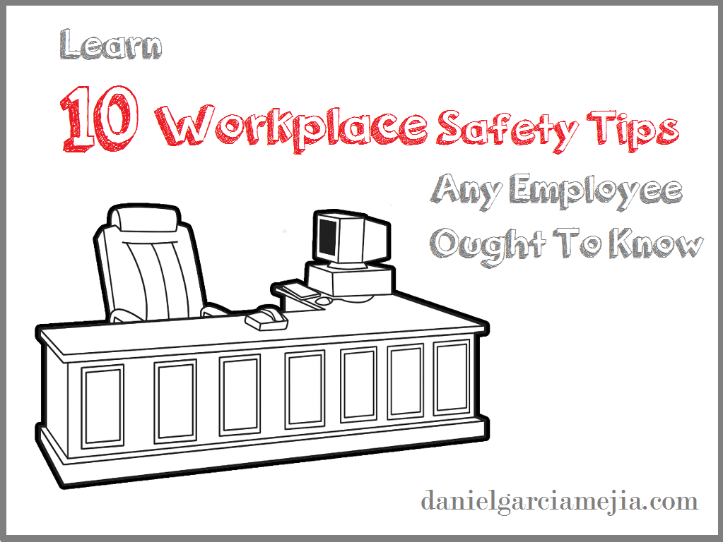 workplace safety tips banner business addicts