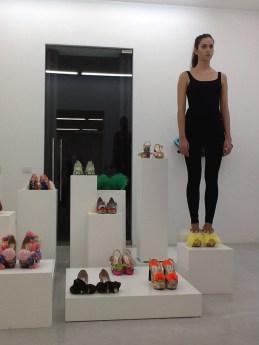Juliet & the Forbidden Games Shoes, performance, Studio La Città, Verona, 2013