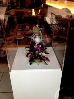 Daniel González, Juliet & the Forbidden Games Shoes #2, 2013 on show at Casa Mazzanti Caffè Verona, for the whole month
