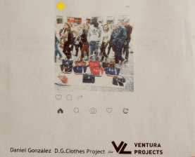 D.G. Clothes Project for Ventura Projects, Milan Design Week, 2017