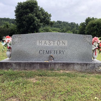 05b - Isaac T. Haston Cemetery on the property he owned.  He was a son of David Haston Haston.