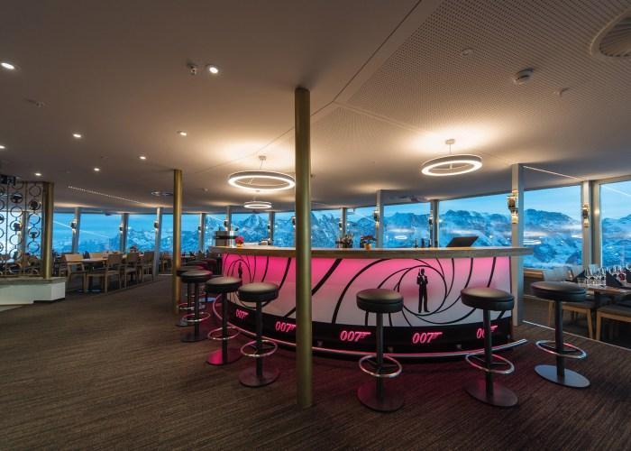 19 – Piz Gloria 360° Rotating Restaurant 9,744′ Altitude