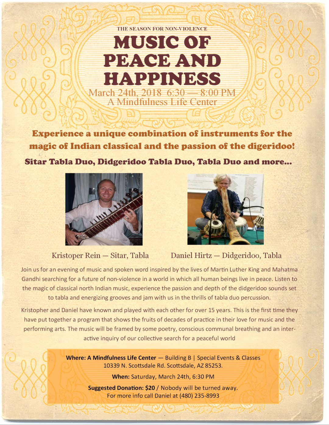 The Season for Non-Violence - Music for Peace and Happiness