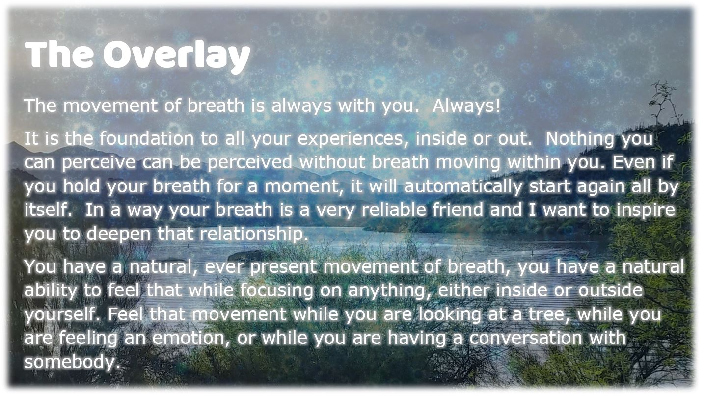 The Overlay of Breath and Consciousness