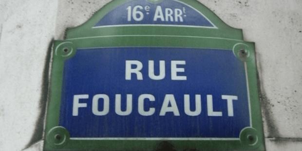 street sign photo: rue foucault