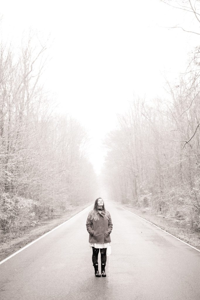 Maggie-Winter-Photoshoot-Coffee-Snow-Road-Inside-Chesapeake-Southern-Virginia-Triple-R-Ranch-3R-Southern-Girl-18