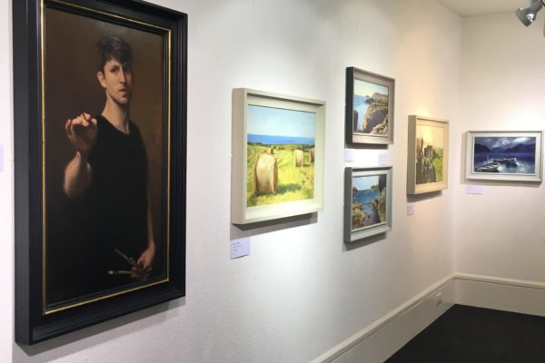 Exhibition of Welsh art in Wales