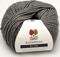 Bugarbush Bliss Gray yarn