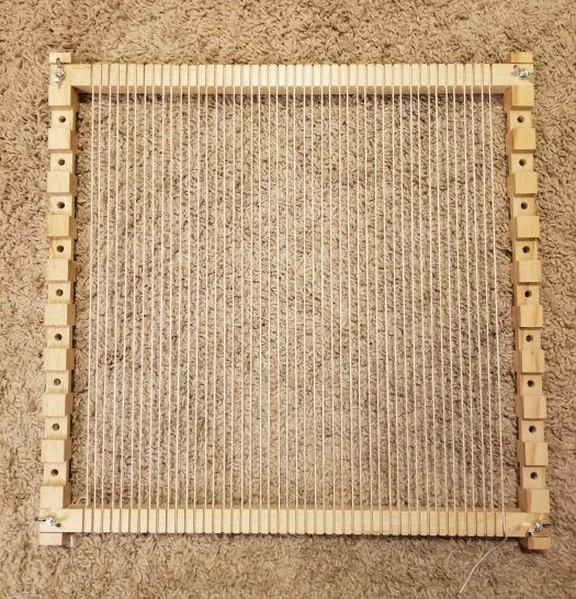 basic loom warped