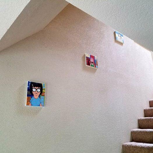 belcher children acrylic paintings